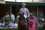 The combination of Calvin Borel and trainer of Almost Famous Pat Byrne, couldn't repeat the magic of 2 years ago when Take Charge Indy won the Florida Derby. Scenes from Fountain of Youth Day. Gulfstream Park, Hallandale Beach Florida. 02-22-2014