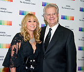 Natural gas billionaire Michael S Smith and his wife, Iris, arrive for the formal Artist's Dinner honoring the recipients of the 40th Annual Kennedy Center Honors hosted by United States Secretary of State Rex Tillerson at the US Department of State in Washington, D.C. on Saturday, December 2, 2017. The 2017 honorees are: American dancer and choreographer Carmen de Lavallade; Cuban American singer-songwriter and actress Gloria Estefan; American hip hop artist and entertainment icon LL COOL J; American television writer and producer Norman Lear; and American musician and record producer Lionel Richie.  <br /> Credit: Ron Sachs / Pool via CNP