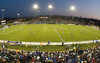 Buck Shaw Stadium..The San Jose Earthquakes tied FC Dallas 0-0, at Buck Shaw Stadium, in Santa Clara, California, Saturday, May 3, 2008. .