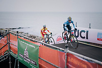 Thibau Nys (BEL)<br /> <br /> Men's Junior race<br /> <br /> UCI 2019 Cyclocross World Championships<br /> Bogense / Denmark<br /> <br /> ©kramon