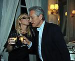 ROMANA LIUZZO CON FRANCESCO RUTELLI<br /> PREMIO GUIDO CARLI - SECONDA  EDIZIONE<br /> RICEVIMENTO A CASINA VALADIER  ROMA 2011