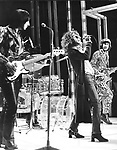 The Who 1970 John Entwistle, Roger Daltrey and Pete Townshend on BBC Into 71..© Chris Walter..