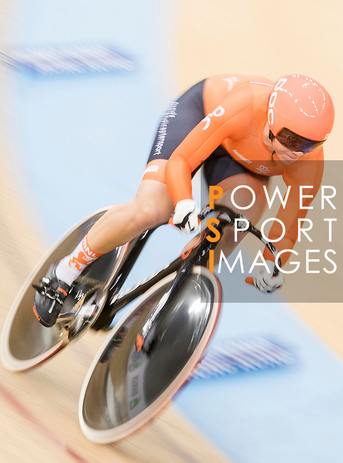 Shanne Braspennincx of the Netherlands team competes in the Women's Sprint - Qualifying as part of the 2017 UCI Track Cycling World Championships on 13 April 2017, in Hong Kong Velodrome, Hong Kong, China. Photo by Chris Wong / Power Sport Images