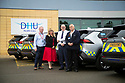 06/09/19<br /> <br /> L/R: James Windsor (DHU), Colette Harris (Toyota GB), Roy Munson (Toyota Derby), and Paul Cogan (DHU Transport Manager)<br /> <br /> DHU Health Care take delivery of six Toyota RAV 4 at their Derby offices.<br /> <br /> All Rights Reserved, F Stop Press Ltd +44 (0)7765 242650 www.fstoppress.com rod@fstoppress.com