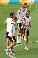 Sami Khedira of Germany trains with his team mates