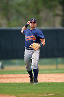 Atlanta Braves Juan Yepez (92) during an intrasquad Spring Training game on March 29, 2016 at ESPN Wide World of Sports Complex in Orlando, Florida.  (Mike Janes/Four Seam Images)