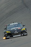 17-19  July, 2009, Birmingham, Alabama USA.#70 SpeedSource Mazda RX-8 of Sylvain Tremblay & Nick Ham.©2009 F.Peirce Williams, USA.