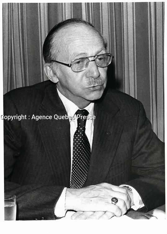 Robert Boyd<br /> , Hydro-Quebec, Mars 1978<br /> <br /> PHOTO : JJ Raudsepp  - Agence Quebec presse