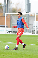 Jordan Thomas, Leyton Orient during Colchester United vs Leyton Orient, Sky Bet EFL League 2 Football at the JobServe Community Stadium on 14th November 2020