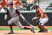 Smith, Adam 0514.jpg.  Big 12 Baseball game with Texas A&M Aggies at Texas Lonhorns  at UFCU Disch Falk Field on May 9th 2009 in Austin, Texas. Photo by Andrew Woolley.