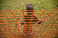Portrait of children in Nyori refugee camp, South Sudan.