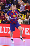 VELUX EHF 2019/20 EHF Men's Champions League Group Phase - Round 8.<br /> FC Barcelona vs Aalborg Handbold: 44-35.<br /> Aron Palmarsson.