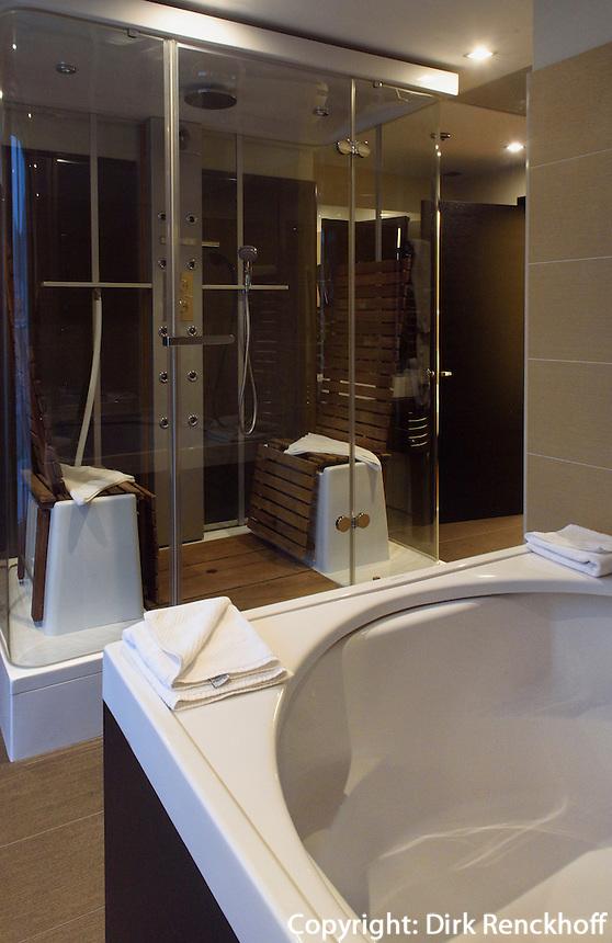 Suite im Continental Hotel im ehemaligen ungarischen Bad, Dohany u.42-44, Budapest, Ungarn