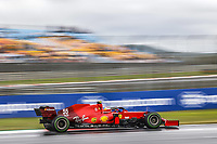 9th October 2021; Formula 1 Turkish Grand Prix 2021 Qualifying sessions at the Istanbul Park Circuit, Istanbul; 55 SAINZ Carlspa, Scuderia Ferrari SF21