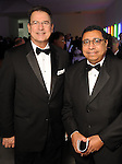 Jim Horsch and Khaled Sharafeldin at the Men of Menil reception at Richmond Hall Thursday March 08,2012. (Dave Rossman Photo)