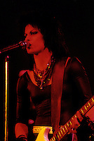 FILE PHOTO (Exact date unknown) - Joan Jett  and the blackhearts<br />   in the eighties<br /> <br /> PHOTO : Harold Beaulieu -  Agence Quebec Presse