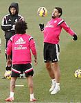 Real Madrid's Sami Khedira during training session.January 30,2015.(ALTERPHOTOS/Acero)