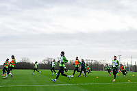 Bersant Celina of Swansea City in action during the Swansea City Training at The Fairwood Training Ground in Swansea, Wales, UK.  Wednesday 08 January 2020