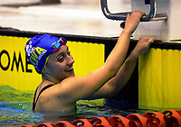 Mya Rasmussen (100m medley).. Session ten on day five of the 2017 National Age Group Swimming Championships at  Wellington Regional Aquatic Centre in Wellington, New Zealand on Saturday, 25 March 2017. Photo: Dave Lintott / lintottphoto.co.nz