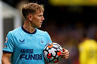 25th September 2021; Vicarge Road, Watford, Herts,  England;  Premier League football, Watford versus Newcastle; Matt Ritchie of Newcastle United