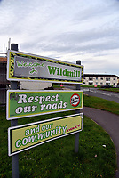Pictured: The Wildmill area of Bridgend, Wales, UK. IMAGE TAKEN FROM OPEN FACEBOOK ACCOUNT.<br /> Re: Two five-month old baby boys have died after they were found not breathing at a house in Bridgend.<br /> Emergency services were called to an address in the Wildmill area of the town.<br /> The brothers, who were two of a set of triplets, were taken to the Princess of Wales Hospital where they were later pronounced dead.<br /> The surviving brother is called Ethan, and the mother is called Sarah Owen.<br /> South Wales Police said the deaths were not being treated as suspicious, but as a tragic accident.<br /> Enquiries are continuing into the cause of the deaths.