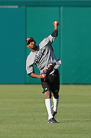 May 26, 2010: Engel Beltre of the Bakersfield Blaze during game against the Inland Empire 66'ers at Arrowhead Credit Union Park in San Bernardino,CA.  Photo by Larry Goren/Four Seam Images