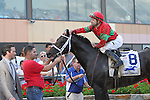 September 1, 2014: Protonico, Joe Bravo up, wins the grade 3 Smarty Jones Stakes at Parx Racing in Bensalem, PA. Trainer is Todd Pletcher. Owner is International Equities Holding, Inc. ©Joan Fairman Kanes/ESW/CSM