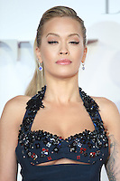 """Rita Ora<br /> at the """"Fifty Shades Darker"""" premiere, Odeon Leicester Square, London.<br /> <br /> <br /> ©Ash Knotek  D3223  09/02/2017"""