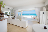 BNPS.co.uk (01202 558833)<br /> Pic: CapVillas/BNPS<br /> <br /> The living room has spectacular views<br />  <br /> A glamorous villa that has hosted a string of celebrities including Winston Churchill, Pablo Picasso, the Duke of Windsor and Edith Piaf is on the market for £9m (10.5m euros).<br /> <br /> The exquisite Villa La Garoupe Beach sits on a natural sand beach and has its own private beach on one of the French Riviera's most exclusive spots.<br /> <br /> It was once a renowned beach club and the list of names connected to the property are endless. French singer Edith Piaf hosted her engagement party to Theo Sarapo there and it was also visited by former US President Harry Truman, writer Ernest Hemingway, Bond actor Sean Connery and movie star Marlene Dietrich.<br /> <br /> The property in Cap d'Antibes has four bedrooms suitable for six to eight people, three bathrooms and a living area overlooking the sea.