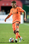 Liverpool FC defender Alberto Moreno in action during the Premier League Asia Trophy match between Liverpool FC and Crystal Palace FC at Hong Kong Stadium on 19 July 2017, in Hong Kong, China. Photo by Weixiang Lim / Power Sport Images