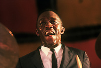 Art Blakey performing at The Newport Jazz Festival (c.1959)