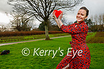 Karen Conway from Tralee rehearsing her contemporary dance routine in the Tralee town park for the upcoming Philomena Dramatics Online talent show.