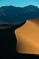 Dunes at Death Valley.