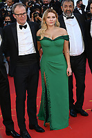 CANNES, FRANCE. July 8, 2021: Tom McCarthy & Abigail Breslin at the Stillwater Premiere at the 74th Festival de Cannes.<br /> Picture: Paul Smith / Featureflash
