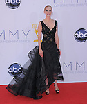 January Jones at The 64th Anual Primetime Emmy Awards held at Nokia Theatre L.A. Live in Los Angeles, California on September  23,2012                                                                   Copyright 2012 Hollywood Press Agency