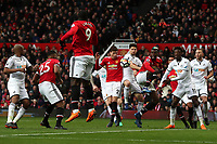 Federico Fernandez of Swansea City during the Premier League match between Manchester United and Swansea City at the Old Trafford, Manchester, England, UK. Saturday 31 March 2018