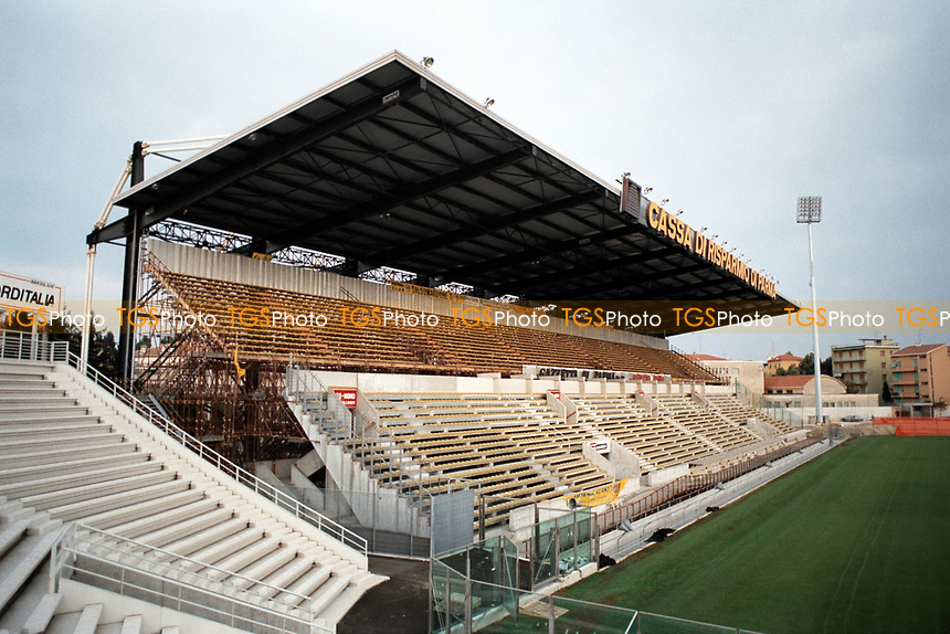 General view of Stadio Ennio Tardini, home of Parma Calcio 1913 FC