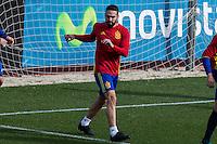 Spainsh Dani Carvajal during the training of the spanish national football team in the city of football of Las Rozas in Madrid, Spain. November 09, 2016. (ALTERPHOTOS/Rodrigo Jimenez) ///NORTEPHOTO.COM
