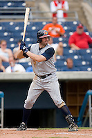 Ryan Roberson #25 of the Toledo Mudhens at bat versus the Norfolk Tides at Harbor Park June 7, 2009 in Norfolk, Virginia. (Photo by Brian Westerholt / Four Seam Images)
