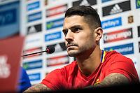 Spainsh Victor Machin Vitolo during the press conference at Nuevo Los Carmenes Stadium in Granada, Spain. November 11, 2016. (ALTERPHOTOS/Rodrigo Jimenez) //NORTEPHOTO.COM