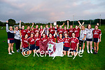 Scartaglen celebrating their win over MKL Gaels in the Kerry Ladies Division 2 county league football final