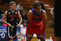 The Central Coast Crusaders play Maitland Mustangs in Round 3 of the Basketball NSW Waratah 1 Men at Breakers Stadium on 25th of July, 2020 in Terrigal, NSW Australia. (Photo by Paul Barkley/LookPro)