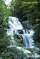 WF01-001c  Waterfall - Katahdin Falls, Baxter State Park, Maine