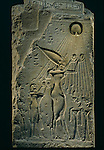 Relief of Akhenaten under Aten, balustrade, Amenhotep IV, Tutankhamun and the Golden Age of the Pharaohs, Page 108