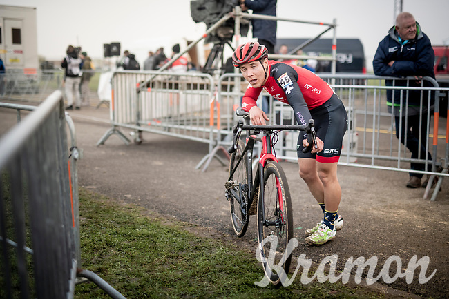 Timon Ruegg (SUI) post-race<br /> <br /> Elite Men's Race<br /> UCI cyclocross WorldCup - Koksijde (Belgium)<br /> <br /> ©kramon