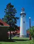 Schoolcraft County, MI <br /> Seul Choix Point Light (1895), Lake Michigan near Gulliver, Michigan's Upper Peninsula