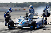 Verizon IndyCar Series<br /> ABC Supply 500<br /> Pocono Raceway, Long Pond, PA USA<br /> Sunday 20 August 2017<br /> Tony Kanaan, Chip Ganassi Racing Teams Honda, pit stop<br /> World Copyright: Michael L. Levitt<br /> LAT Images