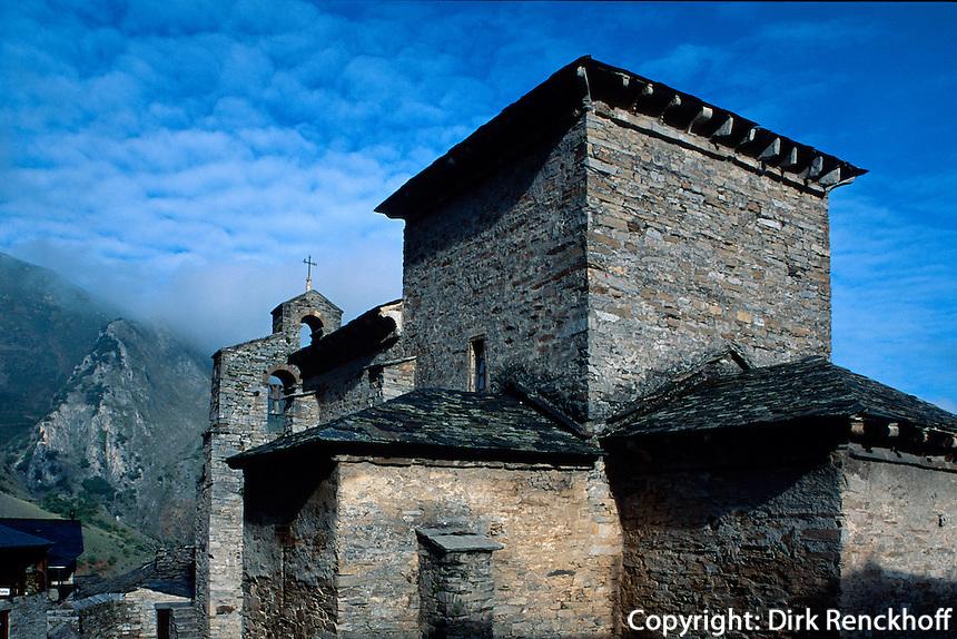 Spanien, Kastilien-León, bei Ponferrada, Dorf Peñalba de Santiago.