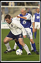 26/10/02       Collect Pic : James Stewart                     .File Name : stewart-qots v ross county 08.HUGH ROBERTSON HOLDS OFF STEVEN BOWEY..........James Stewart Photo Agency, 19 Carronlea Drive, Falkirk. FK2 8DN      Vat Reg No. 607 6932 25.Office : +44 (0)1324 570906     .Mobile : + 44 (0)7721 416997.Fax     :  +44 (0)1324 570906.E-mail : jim@jspa.co.uk.If you require further information then contact Jim Stewart on any of the numbers above.........