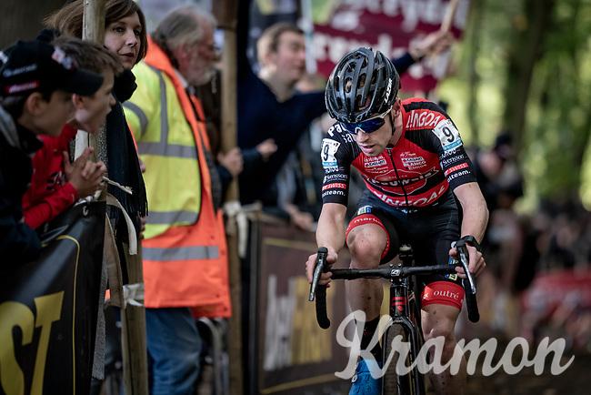 Best rider of the first cyclocross months, Eli Iserbyt (BEL/Pauwels Sauzen-Bingoal) on his way to yet another race win<br /> <br /> Elite & U23 Mens Race<br /> 42nd Superprestige cyclocross Gavere 2019<br /> <br /> ©kramon